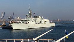 NATO ships visit Ukraine and Georgia
