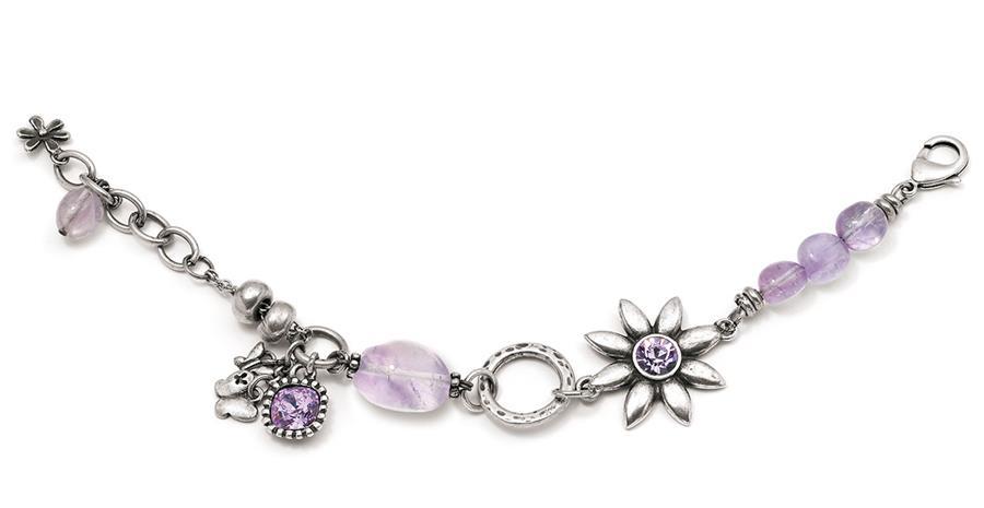 Gypsy Rose Charm Bracelet (B948)