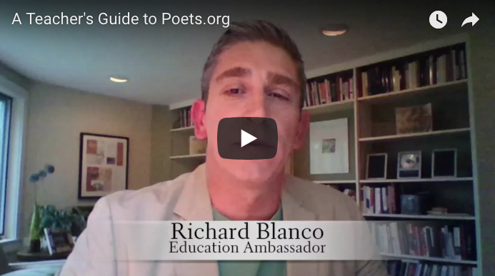 A Teacher's Guide to Poets.org